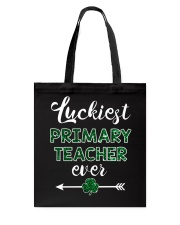 Luckiest Primary Teacher Ever Tote Bag thumbnail