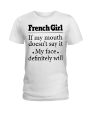 French Ladies T-Shirt front