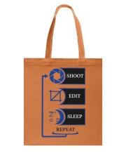 Shoot Edit Sleep Repeat photoglife Tote Bag thumbnail