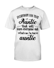 Auntie who cuss a lot Classic T-Shirt thumbnail