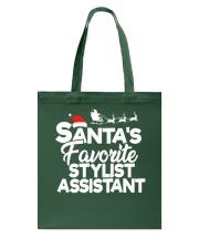 Santa's favorite Stylist Assistant Tote Bag thumbnail