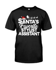 Santa's favorite Stylist Assistant Classic T-Shirt thumbnail