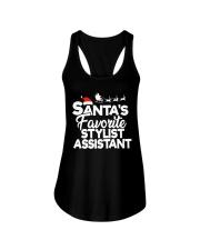 Santa's favorite Stylist Assistant Ladies Flowy Tank thumbnail