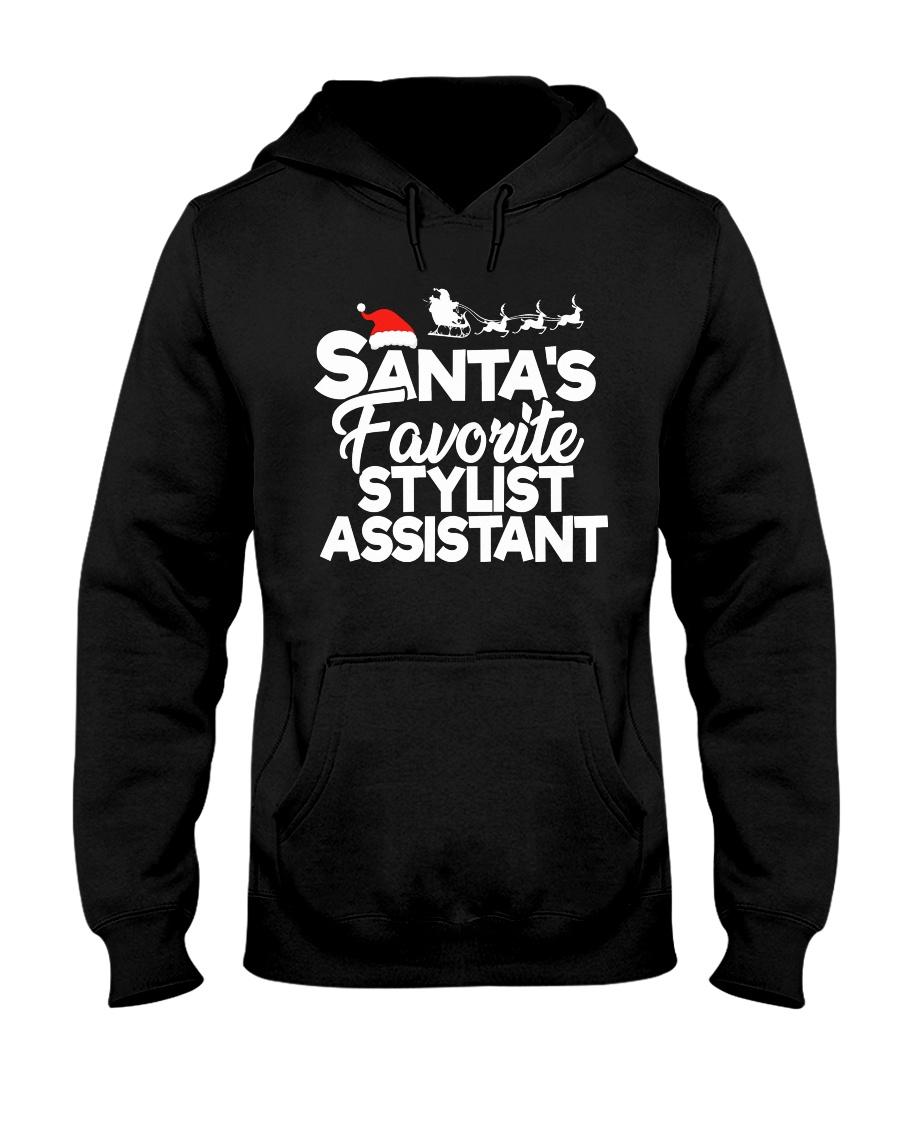 Santa's favorite Stylist Assistant Hooded Sweatshirt