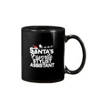 Santa's favorite Stylist Assistant Mug thumbnail