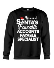 Santa's favorite Accounts Payable Specialist Crewneck Sweatshirt thumbnail
