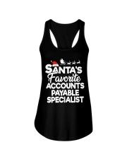 Santa's favorite Accounts Payable Specialist Ladies Flowy Tank thumbnail