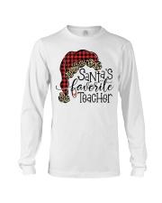 Santa favorite teacher Long Sleeve Tee thumbnail