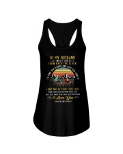Camping partner for life Ladies Flowy Tank thumbnail