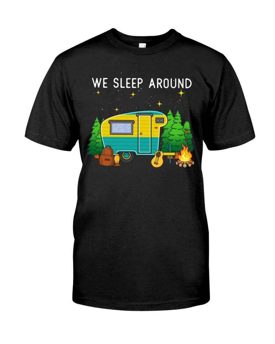 We sleep around Classic T-Shirt