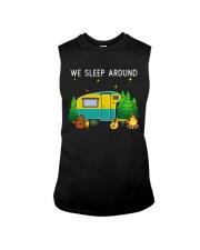 We sleep around Sleeveless Tee thumbnail