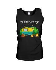 We sleep around Unisex Tank thumbnail