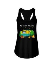 We sleep around Ladies Flowy Tank thumbnail