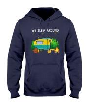 We sleep around Hooded Sweatshirt thumbnail