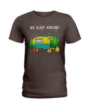 We sleep around Ladies T-Shirt thumbnail