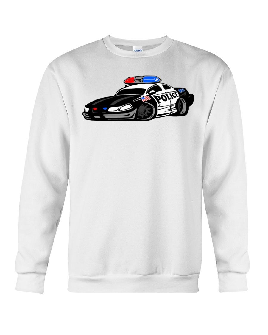 Police Car Crewneck Sweatshirt