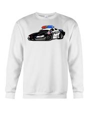 Police Car Crewneck Sweatshirt front
