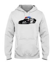 Police Car Hooded Sweatshirt thumbnail