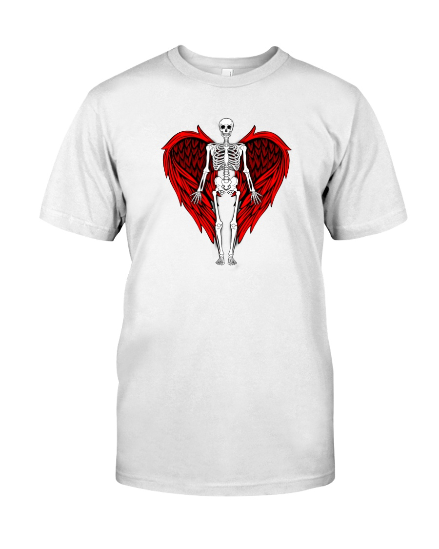 Skeleton Angel Premium Fit Mens Tee