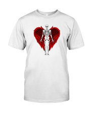 Skeleton Angel Premium Fit Mens Tee front