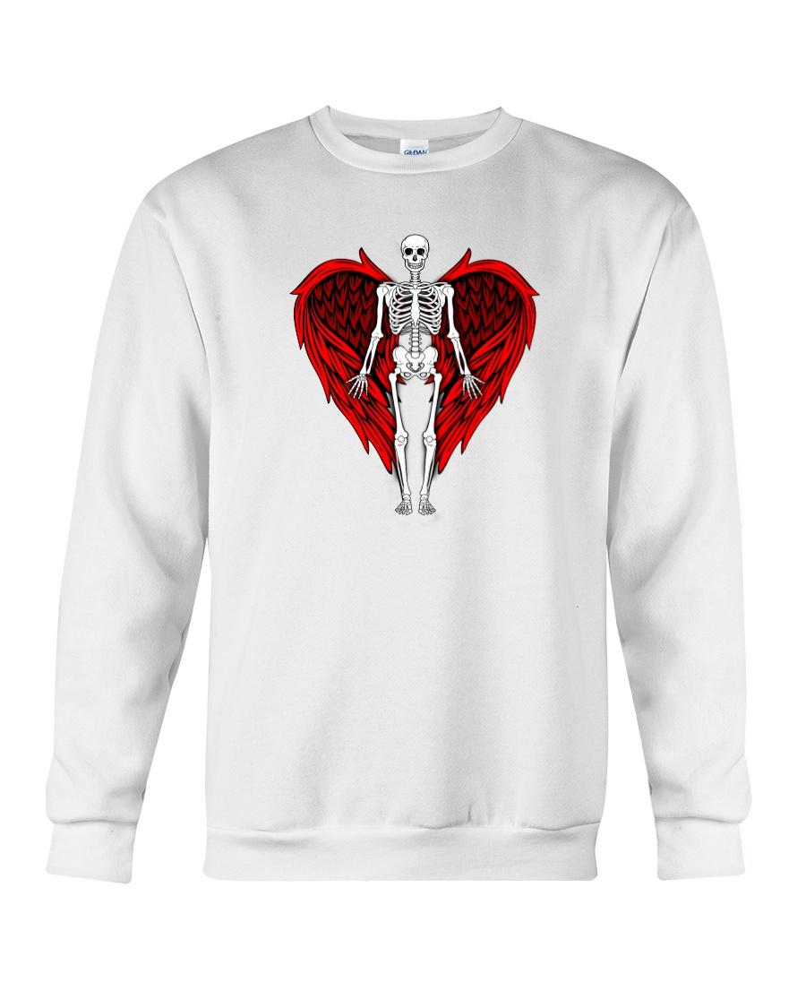 Skeleton Angel Crewneck Sweatshirt