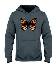 Monarch Butterfly Hooded Sweatshirt front
