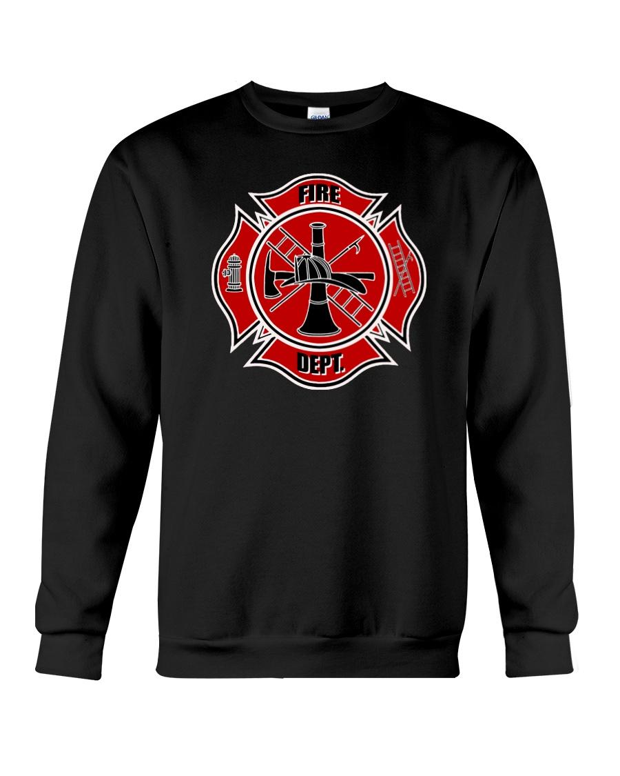 FireDept2 Crewneck Sweatshirt