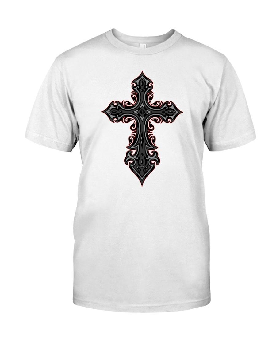 Sacred Cross Premium Fit Mens Tee