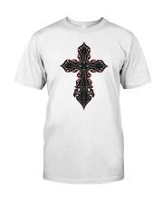 Sacred Cross Premium Fit Mens Tee front