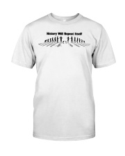 History Repeat Premium Fit Mens Tee front