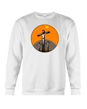 Jesus on Cross Crewneck Sweatshirt front