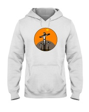 Jesus on Cross Hooded Sweatshirt thumbnail