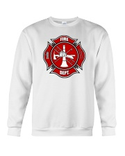 Fire Dept 1 Crewneck Sweatshirt thumbnail