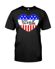 Love Doggy Style Premium Fit Mens Tee thumbnail