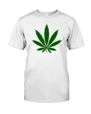 Green Leaf Premium Fit Mens Tee front
