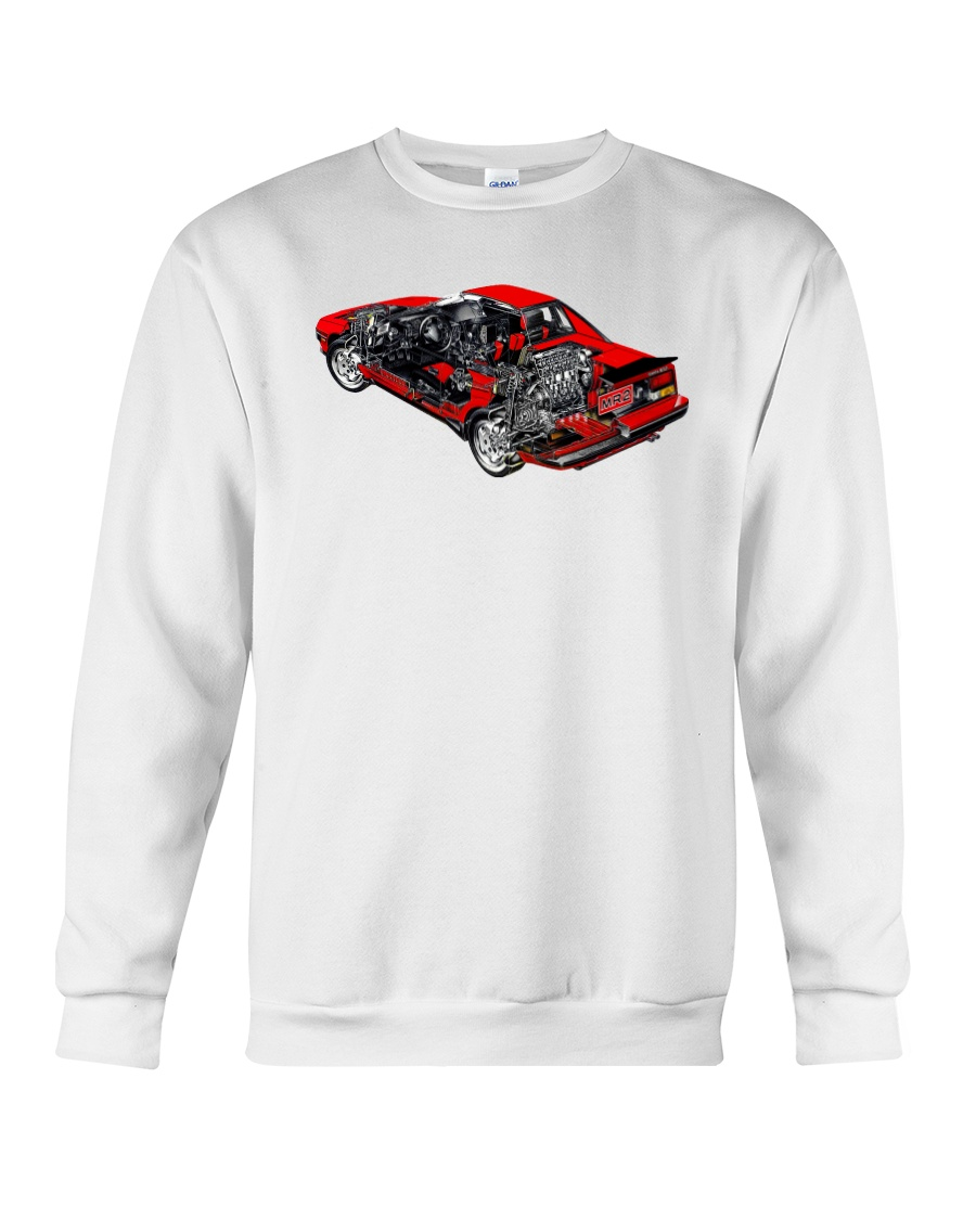 MR2 cutout Crewneck Sweatshirt