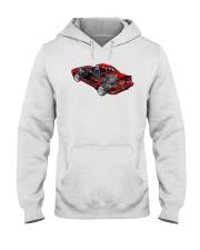 MR2 cutout Hooded Sweatshirt thumbnail