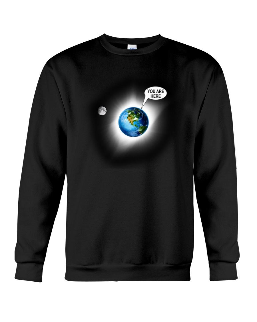 You Are Here Crewneck Sweatshirt