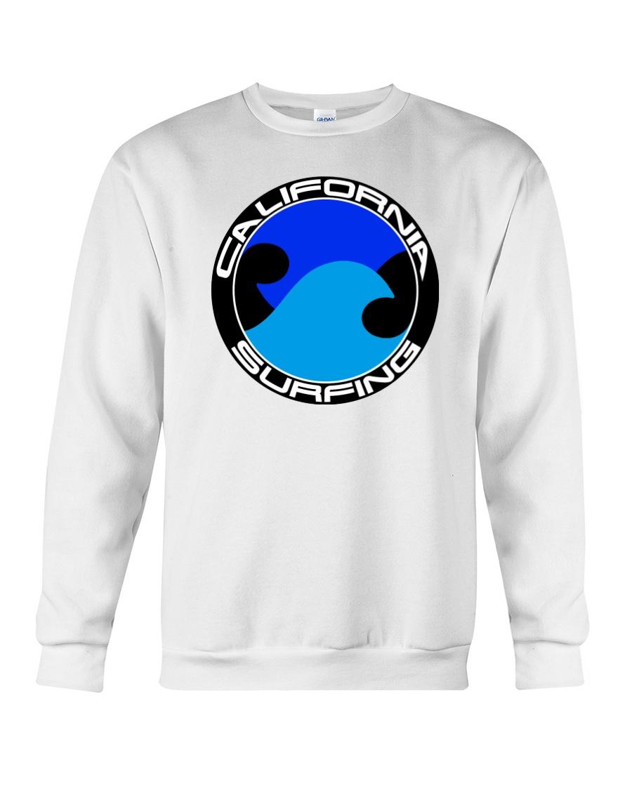 surfing Crewneck Sweatshirt