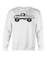 Monster Truck Crewneck Sweatshirt front