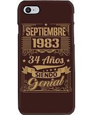 Septiembre 1983 Phone Case thumbnail