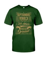 Septiembre 1983 Classic T-Shirt front