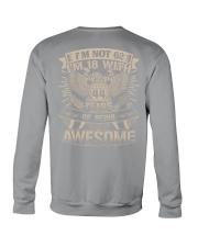 I'm not 62 Crewneck Sweatshirt thumbnail
