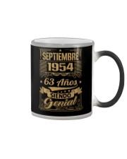 Septiembre 1954 Color Changing Mug thumbnail