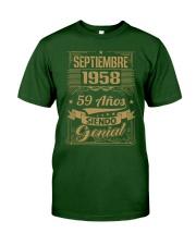 Septiembre 1958 Classic T-Shirt front
