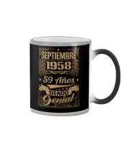 Septiembre 1958 Color Changing Mug thumbnail