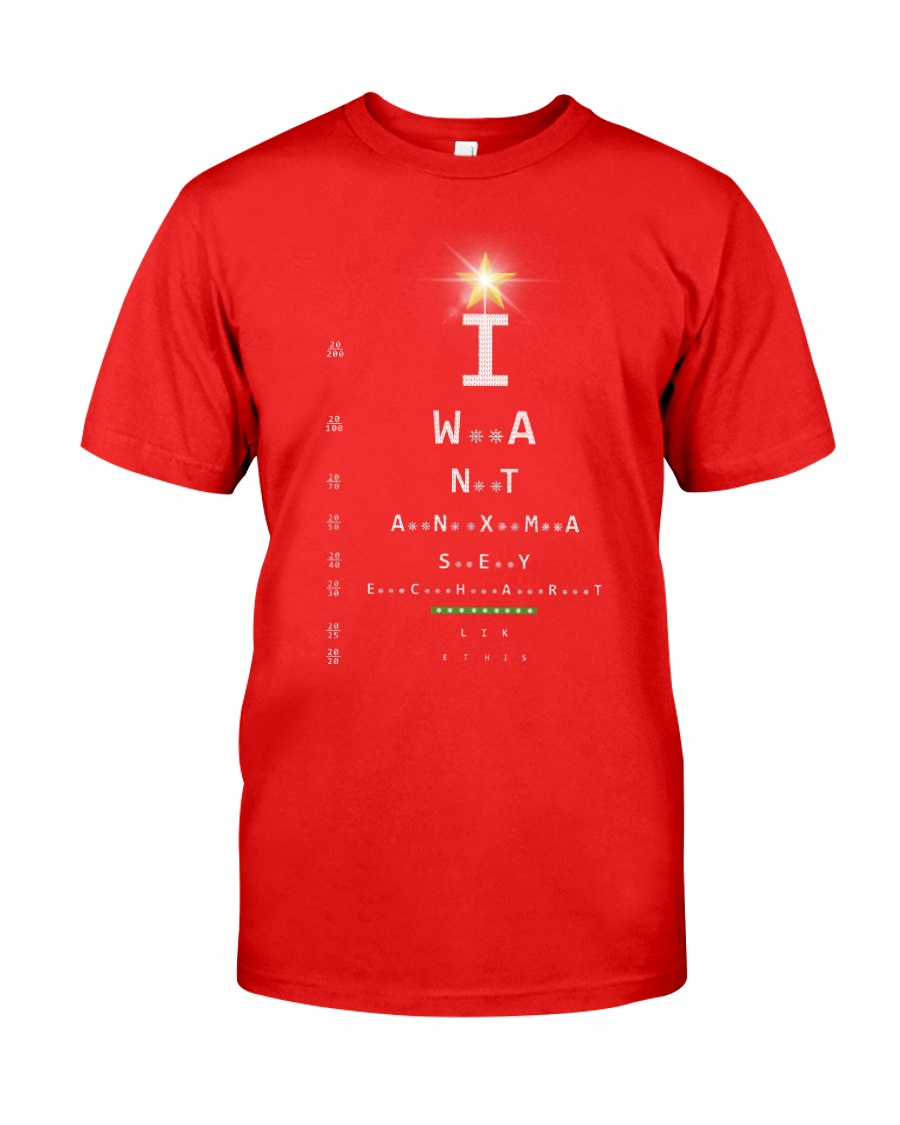 Eye Chart Classic T-Shirt