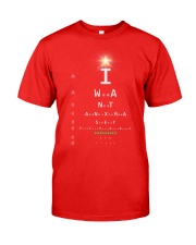 Eye Chart Classic T-Shirt front