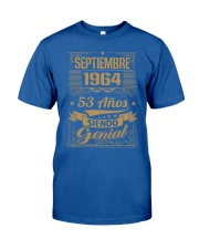 Septiembre 1964 Classic T-Shirt front