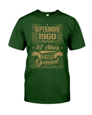 Septiembre 1960 Classic T-Shirt front